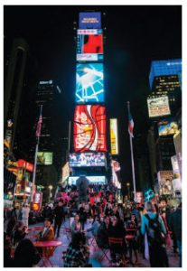 What other city offers as much spectacle as New York City? And Manhattan's Times Square is its epicentre. (Photo: chensiyuan)