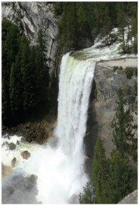 Yosemite National Park in California is known for its waterfalls.  (Photo: Walter Siegmund)