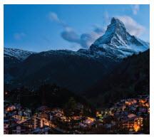 The Zermatt Mountains in Switzerland offer excellent climbing opportunities. (Photo: chensiyuan)