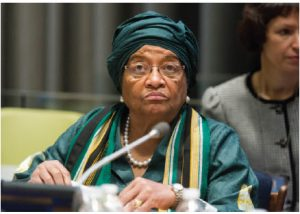 When Ellen Johnson-Sirleaf became president of Liberia, one of her first moves was to sack almost all holdover civil servants at the ministry of finance. (Photo: UN photo)