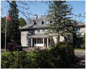Ballybeg is the name of the large stone Rockcliffe home that's been occupied by Tunisian ambassadors since 1970. (Photo: Dyanne Wilson)