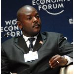 "Burundian President Pierre Nkurunziza's ""re-election"" in July for a third five-year term violated the terms of his country's constitution. (Photo: World Economic Forum)"