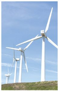 Electricity-generating wind turbines contain pure rare-earth metals. (Photo: © Raquel Pedrosa | Dreamstime.com)
