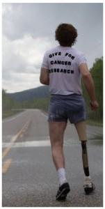 Terry Fox ran 5,373 kilometres in 143 days in his Marathon of Hope. (Photo: Matt Palmer)