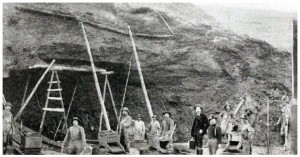 Mining operations in the Klondike in 1899. (Photo: John McLain)