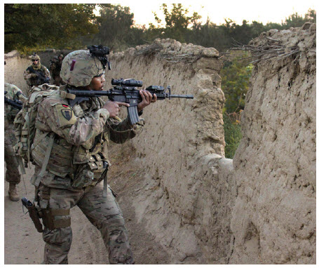 The U.S.-led wars in Iraq and Afghanistan, pictured here, are widely regarded in the West as failures.