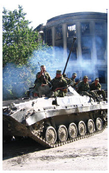 Russian annexation of parts of Georgia in the summer of 2008 only temporarily attracted world attention.