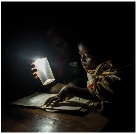 Only 25 percent of sub-Saharan Africans and even fewer rural dwellers have regular access to electric power.