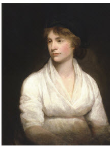 Mary Wollstonecraft, painted by John Opie