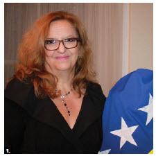 Koviljka Špiri´c, ambassador of Bosnia-Herzegovina, hosted a reception at her embassy. (Photo: Ülle Baum)