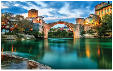 Mostar In Bosnia And Herzegovina Is One Of The Most Visited Places