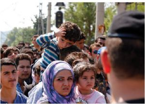 Syrian refugees in Macedonia: The war in Syria has displaced close to 11 million people. (Photo: Dragan Tatic)