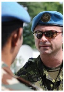 Expect the Liberals to start re-emphasizing peacekeeping and peacebuilding. (Photo: Corporal Shilo Adamson, Canadian Forces Combat Camera)