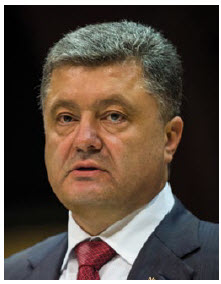 Ukrainian President Petro Poroshenko (Photo: © Claude Truong-Ngoc)