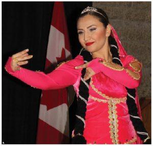 The same event featured dancer Sevda Azami, of Toronto's Tabriz Music and Dance Ensemble. (Photo: Ülle Baum)