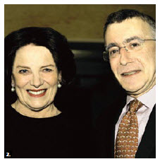 French Ambassador Nicolas Chapuis hosted WaterAid's  Auction of Nations at his residence. He's shown with honorary chairwoman Margaret Trudeau. The event aimed to raise $40,000, enough money to bring clean drinking water to 1,600 people in the developing world. (Photo: Lois Siegel)