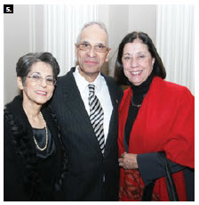 Dominican Republic Ambassador Hector Virgilio Alcantara Mejia, and his wife, Eunice Brigida Lluberes, left, hosted a national day reception at the Château Laurier. They are shown with Argentine Ambassador Norma Nascimbene de Dumont.  (Photo: Sam Garcia)