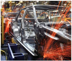 During the past half-century, the share of manufacturing as a percentage of Canadian GDP has declined from just under 25 percent to 10 percent. The declines are also recorded when measured by employment levels or the number of new auto assembly plants. (Photo: Tom Freda)