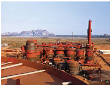 Odebrecht, a major Brazilian construction firm, operates this bio-energy project in Angola. (Photo: Odebrecht collection)