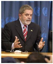 Former Brazilian president Luiz Inacio Lula da Silva built strongly on the Africa relationship. (Photo: UN PHOTO)