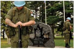 Canadians fancy that the Pearson notion of peacekeeping still exists, but in reality, Canada's contributions are a fraction of what they once were, and have been for decades. (Photo: Combat Camera)