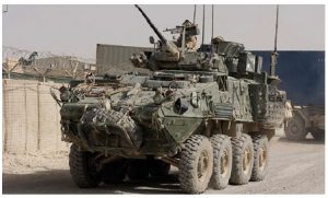"""The $15-billion sale of armoured vehicles to Saudi Arabia, a country with """"an awful human rights record,"""" writes Richard Cohen, is an unwelcome foreign policy dilemma for the government of Justin Trudeau. (Photo: Combat camera)"""