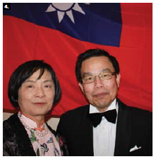 Taipei Economic and Cultural Office Representative Rong-chuan Wu and his wife, Chiu Yueh Hsu, hosted Taiwan Night at the Château Laurier. (Photo: Ülle Baum)