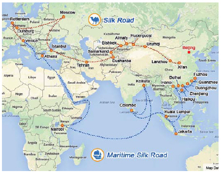 The Silk Road Economic Belt Initiative also has a maritime component, known as the 21st Century Maritime Silk Road. Both projects stand to benefit nearly half of the world's population. (Photo: Ülle Baum)