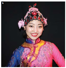 Yahui Wang performed with the Chinese troupe, the Acrobats of Hebei, at the Great Canadian Theatre Company as part of the Music and Beyond festival. Chinese Ambassador Zhaohui Luo took in the show. (Photo: Ülle Baum)