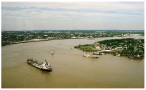 The Mississippi River is central to the U.S.'s enduring influence on the world. (Photo: Wiki)