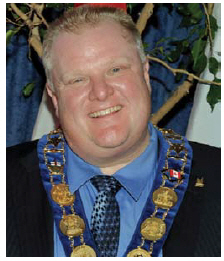Canada is not immune to populism: The election of Rob Ford as mayor of Toronto was a populist protest. (Photo: City of Toronto)