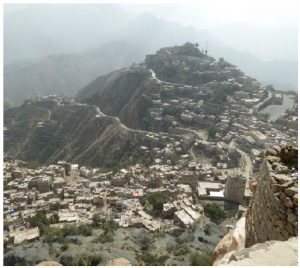 Hajjah city, capital of Hajjah governorate, is located in the northwest part of Yemen.