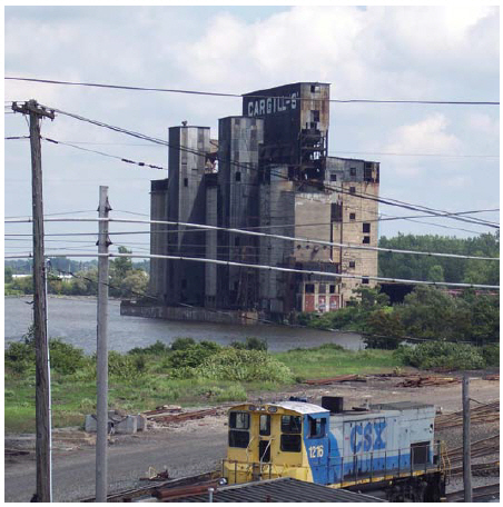 As industrial hubs such as this grain elevator in Buffalo are abandoned, we must rethink the distribution of wealth and the balance of value and work in society, writes Tom Jenkins.  (Photo: fortunate4now)