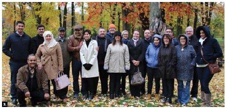 Saudi Ambassador and Ottawa Diplomatic Association (ODA) president Naif Bin Bandir Alsudairy hosted a casual fall gathering of the ODA at Lac-Leamy in Gatineau. (Photo: Ülle Baum)