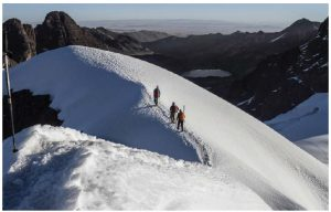 Cordillera Real is a mountain chain that extends for more than 40 kilometres with peaks that soar to 5,000 metres above sea level. (Photo: Bolivian ministry of tourism)