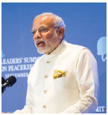 Indian Prime Minister Narendra Modi is spurring India's economy with ambitious programs. (Photo: Markus Hagenlocher)