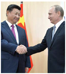 China and Russia are joined in their deep suspicion and active rejection of a global liberal  hegemony led by the U.S. and supported by allies. (Photo: Пресс-служба Президента России)