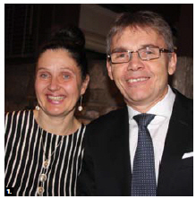 Finnish Ambassador Vesa Ilmari Lehtonen and his wife, Pirjetta Julia Manninen, hosted an independence day reception at their residence. (Photo: Ülle Baum)