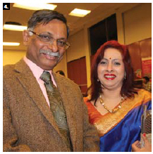 Bangladeshi High Commissioner Mizanur Rahman and his wife, Nishat Rahman, were guests of honour at the annual gala of AlivEducation, which took place at Overbrook Community Centre. (Photo: Ülle Baum)