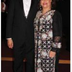 Mahmoud Eboo, Ottawa's resident representative of the Aga Khan, and his wife, Karima, attended the ball. (Photo: Ülle Baum)