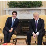 U.S. President Donald Trump and Prime Minister Justin Trudeau met at the White House in February. NAFTA renegotiations are scheduled to begin in August. (Photo: Office of the President of the United States)