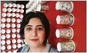 Iranian cartoonist Atena Farghadani has been jailed, beaten and interrogated for hours at a time in Iran for a critical cartoon. (Photo: Facebook)