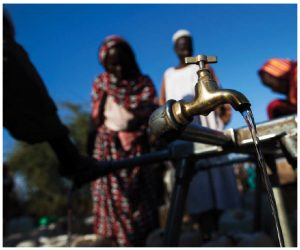 Water scarcity is a problem across Africa, including in Sudan, pictured here, and even in relatively prosperous African countries such as South Africa. (Photo: UN photo)