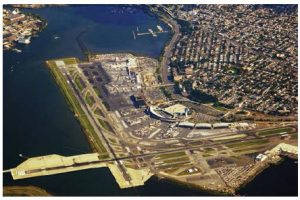 Included in procurement with the U.S. — something U.S. President Donald Trump wants to renegotiate with NAFTA — are such items as transportation infrastructure, engineering and construction services, buses and pipelines. Canada's Vantage Airport Group has a $4 billion contract  to redevelop New York City's LaGuardia Airport, shown here. (Photo: Patrick Handrigan)