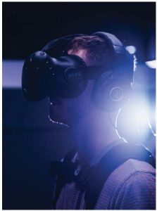 Militaries around the world are increasingly incorporating virtual reality into their training and into the treatment of veterans suffering from post-traumatic stress disorder. (Photo: IMAX)