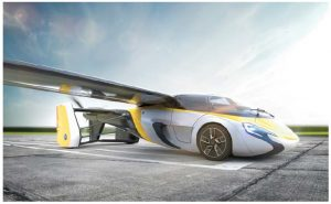 """The Slovakian company, AeroMobil, promises to deliver its flying cars (one model pictured above) to customers by 2020. A model was unveiled by the Prince of Monaco at a car show in April. """"Today is a transformative day for the future of travel as the launch of the AeroMobil means that everyday flying transportation will soon be a reality,"""" AeroMobil CEO Juraj Vaculik said, when he also announced the company was now ready to take pre-orders for up to 500 units. (Photo: Aeromobil)"""