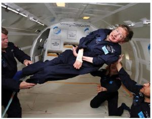Theoretical physicist Stephen Hawking predicts humans have about 100 years to find a new planet if they want to escape extinction. (Photo: Jim Campbell/Aero-News Network)