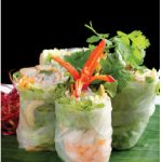 Vietnamese cooks wrap almost anything. These are their legendary salad rolls which are, in this case, rice paper wrapped around shrimp, vermicelli noodles and vegetables. (Photo: © Visionsi | Dreamstime)