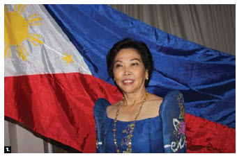 To mark the 119th anniversary of the Philippines' independence, Ambassador Petronila P. Garcia hosted a reception at the Fairmont Château Laurier. (Photo: Ülle Baum)