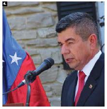 Venezuelan Ambassador Wilmer Omar Barrientos Fernandez hosted a national day reception at the embassy. (Photo: Ülle Baum)